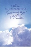 Well Done, Thou Good and Faithful Servant -  Funeral Bulletin