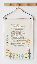 Overcomer Tea Towel