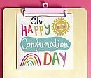 Oh Happy Confirmation Day Single Card