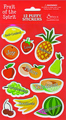Puffy Stickers Fruits Of Spirit