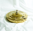 Brass Tray and Disc Cover