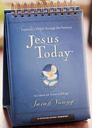 Jesus Today Large Size Perpetual Calendar Daybrightener
