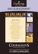BOXED CARD ENC COURAGEOUS