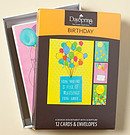 Birthday Cards Pack of 12