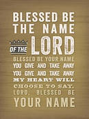 BOXED NOTES BLESSED NAME HEART