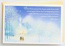 Billy Graham - Only Christ Meets Our Needs 18 Premium Christmas Boxed Cards, KJV