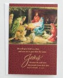 She Will Give Birth Christmas Cards Box of 18