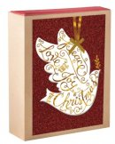 Peace, Love, and Joy - 18 Boxed Premium Christmas Cards