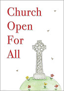 Church Open For All- A2 Poster