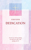 Dedication Card - Pack of 10