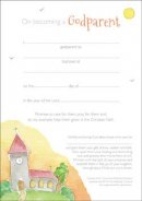 Certificate on Becoming a Godparent Pack of 10