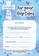 Baptism Certificate Pack of 10