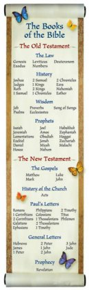 Bookmark: Books Of The Bible