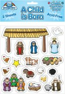 Child Is Born Sticker Set