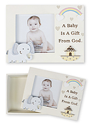 Baby Photo Frame Keepsake Box