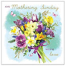 On Mothering Sunday with Love Single Card
