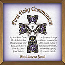 First Holy Communion Copper Plaque
