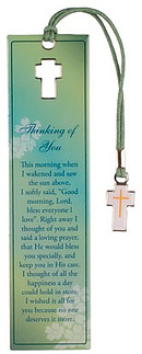 Thinking of You Metal Bookmark