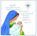 Emmanuel Charity Christmas Card Pack of 10