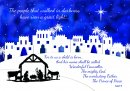 The Prophecy Charity Christmas Card Pack of 10