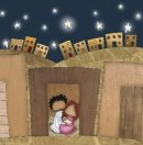 Stable Christmas Card (Pack of 10) - Sshh... Don't Wake the Baby