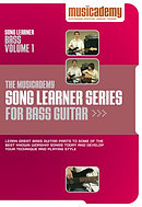 Song Learner Series for Bass Guitar: vol. 1