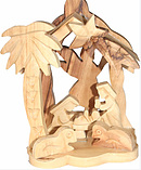 Small Nativity Scene Angel
