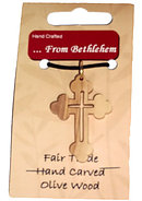 Holy Land Cross Necklace