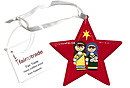 Star Decoration - Nativity Play / Mary & Joseph