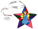Star Decoration - Stained Glass / Angel design