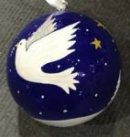 Dove Christmas Bauble
