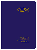 Pocket Navy Fish Scripture 2019 Diary