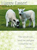 Happy Easter Minicard Pack of 4
