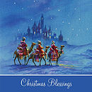 Wise Men Night Scene Pack of 5