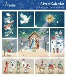 Christmas Scene Charity Advent Calendar