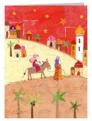 Journey to Bethlehem Advent Calendar Card