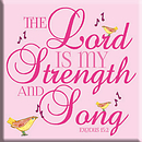 The Lord is My Strength Magnet