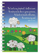 Psalm 23 Notebook