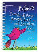 Believe A5 Notebook