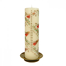 Musical Angels Pillar Advent Candle