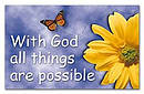 """With God All Things"" Pass-Around Cards"