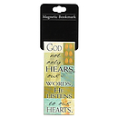 God Not Only Hears - Magnetic Bookmark