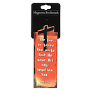 """John 3:16"" (Orange) Magnetic Bookmark"