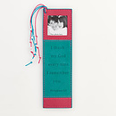 I Thank My God (WOW) - Faux Leather Bookmark