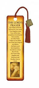 """The Lord's Prayer"" Bookmarks w/ Charm"