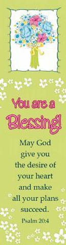 """You are a Blessing"" (Lime) Bookmarks"