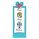 """Trust Hope Believe"" Magnetic Bookmark"