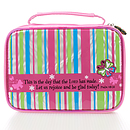 """""""This is the day"""" (Striped) Medium Bible Cover"""