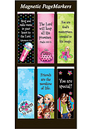 Chosen Magnetic Page Markers - Pack of 6