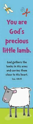 """Precious Lamb"" Bookmarks"
